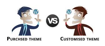 "Should I purchase a WordPress theme for ""Website development"" in WordPress?"