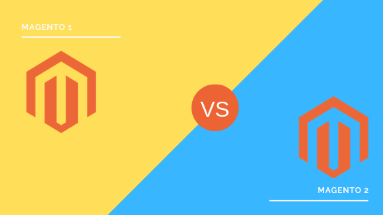 What are major differences between Magento 1 and Magento 2