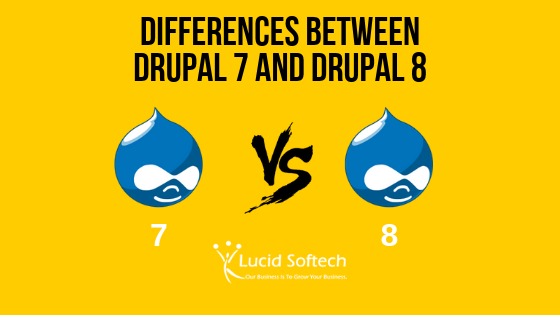 Differences between Drupal 7 and Drupal 8