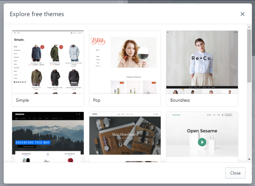 Download free themes shopify - Shopify installation