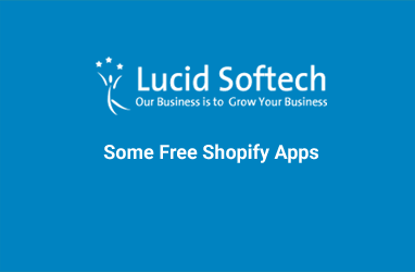 Some Free Shopify Apps