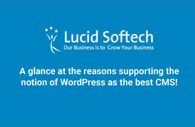 A glance at the reasons supporting the notion of WordPress as the best CMS!