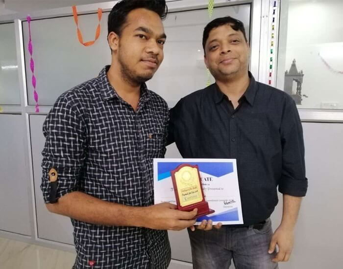 Employee of the month February 2019 – Aniket