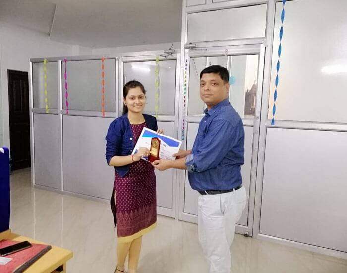 Employee of the month October 2018 – Shitakshi Shukla