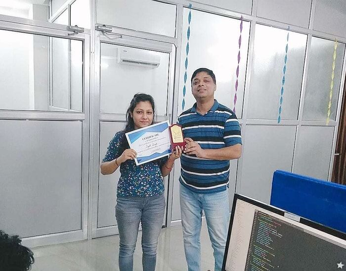 Employee of the month September 2018 – Jyoti Singh