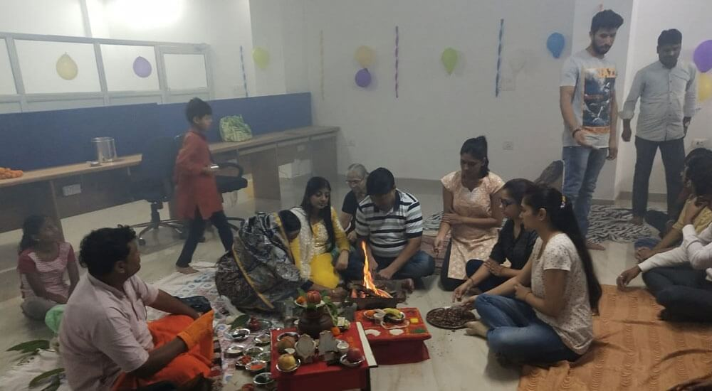 Puja in office – 2018