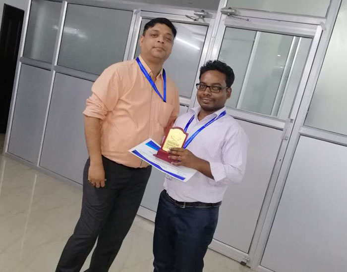 Employee of the month October 2019 – Anand